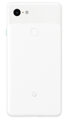 Google Pixel 3 XL 64GB Clearly White Back