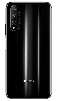 Honor 20 128GB Black Back