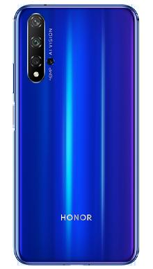 Honor 20 128GB Sapphire Blue Back