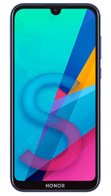 Honor 8S Blue Front