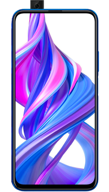 Honor 9X Sapphire Blue Front