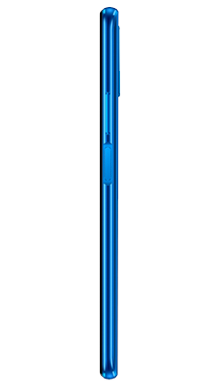 Honor 9X Sapphire Blue Side