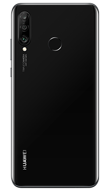 Huawei P30 Lite Midnight Black Back
