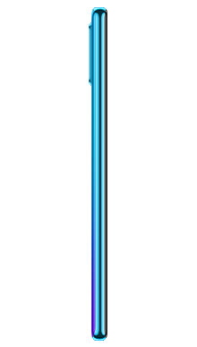 Huawei P30 Lite Peacock Blue Side