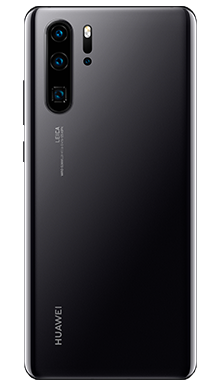 Huawei P30 Pro 128GB Midnight Black Back