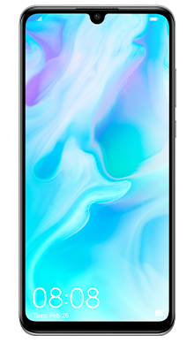 Huawei P30 Lite Pearl White Front
