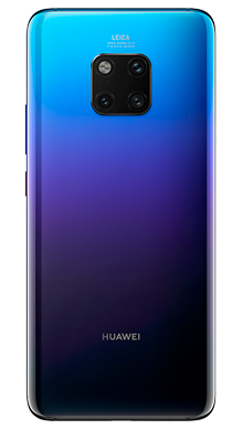Huawei Mate 20 Pro Twilight Back