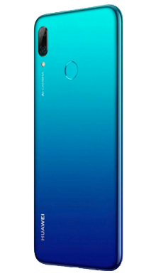 Huawei P Smart 2019 Aurora Blue Side