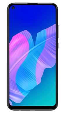 Huawei P40 Lite E  128GB Midnight Black Front