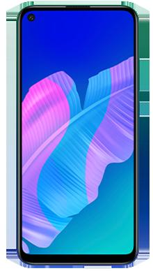 Huawei P40 Lite E 128GB Aurora Blue Front