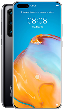 Huawei P40 Pro 256GB 5G Midnight Black