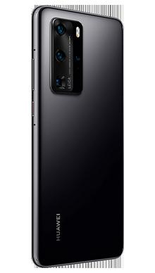 Huawei P40 Pro 256GB 5G Midnight Black Side
