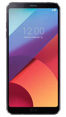 LG G6 32GB Black Nearly New Front