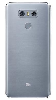 LG G6 32GB Platinum Back