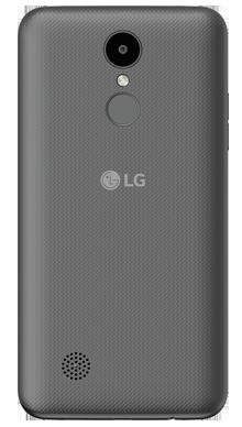 LG K4 2017 Black Refurb Back