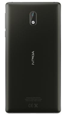 Nokia 3 Black Back