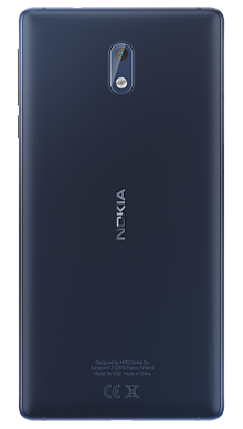 Nokia 3 Blue Back