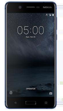 Nokia 5 Blue Front