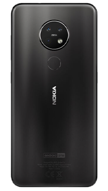 Nokia 7.2 Black Back