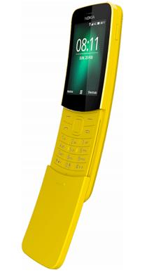 Nokia 8110 Yellow Side