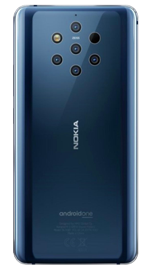 Nokia 9 Blue Back