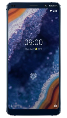 Nokia 9 Blue Front