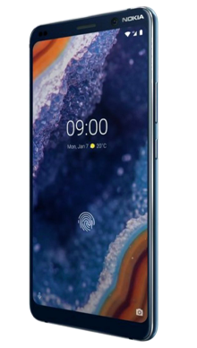 Nokia 9 Blue Side