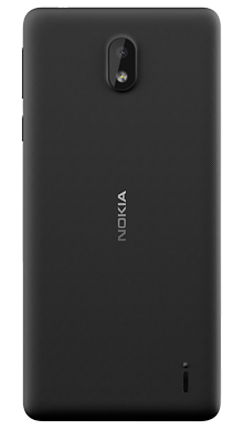 Nokia 1 Plus Black Back