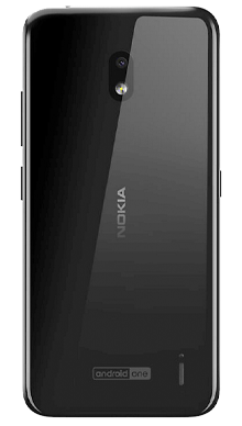 Nokia 2.2 Black Back