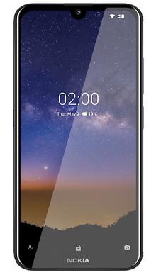 Nokia 2.2 Black Front