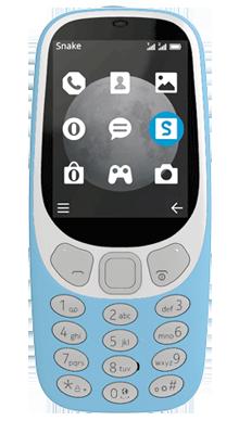 Nokia 3310 Blue Front