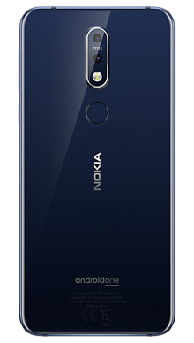 Nokia 7.1 Blue Back