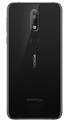 Nokia 7.1 Black Back