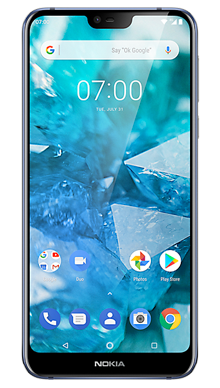 Nokia 7.1 Blue Front