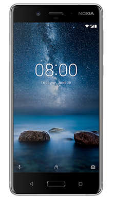 Nokia 8 Steel Front