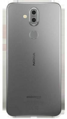 Nokia 8.1 Iron Steel Back
