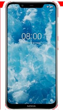 Nokia 8.1 Iron Steel Front