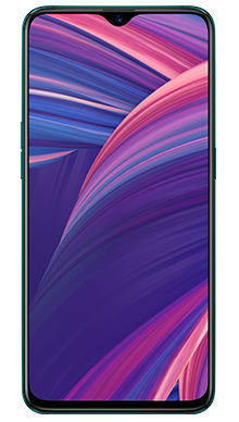 Oppo RX17 Pro 128GB Emerald Green Front
