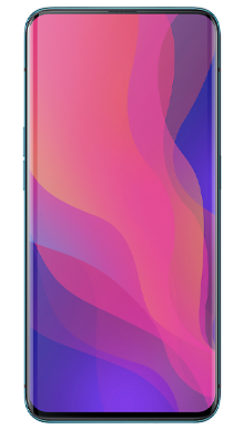 Oppo Find X 128GB Glacier Blue Front
