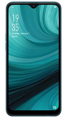Oppo AX7 64GB Blue Front