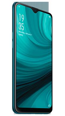 Oppo AX7 64GB Blue Side