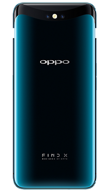 Oppo Find X 128GB Glacier Blue Back