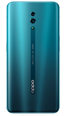 Oppo Reno 5G 256GB Ocean Green Back