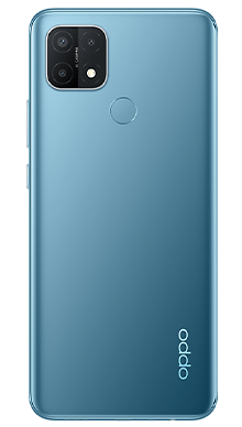 Oppo A15 32GB Mystery Blue Back