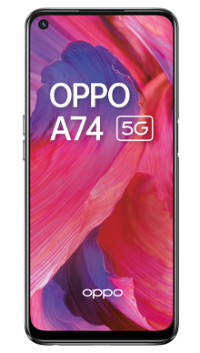 Oppo A74 5G 128GB Twilight Black Front