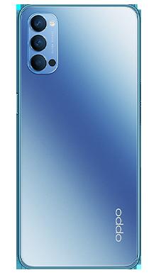 Oppo Reno4 5G 128GB Galactic Blue Back