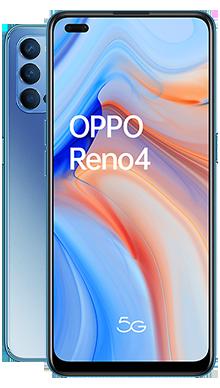 Oppo Reno4 5G 128GB Galactic Blue
