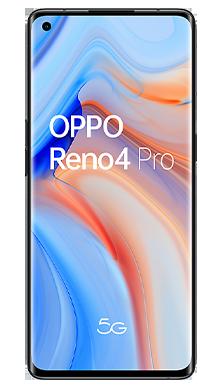 Oppo Reno4 Pro 5G 128GB Space Black Front