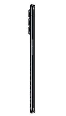 Oppo Reno4 Pro 5G 128GB Space Black Side