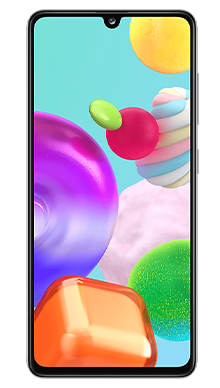 Samsung Galaxy A41 64GB White Front